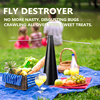 Summer Multifunctional Fan Portable Fly Repellent Fan Food Fly Destroyer Keep Flies Bugs Away From Food Pest Repellent Table Fan