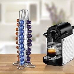 コーヒーポッドホルダーディスペンサーコーヒーカプセル調剤タワースタンドネスプレッソカプセル収納コーヒーホルダーのために適合