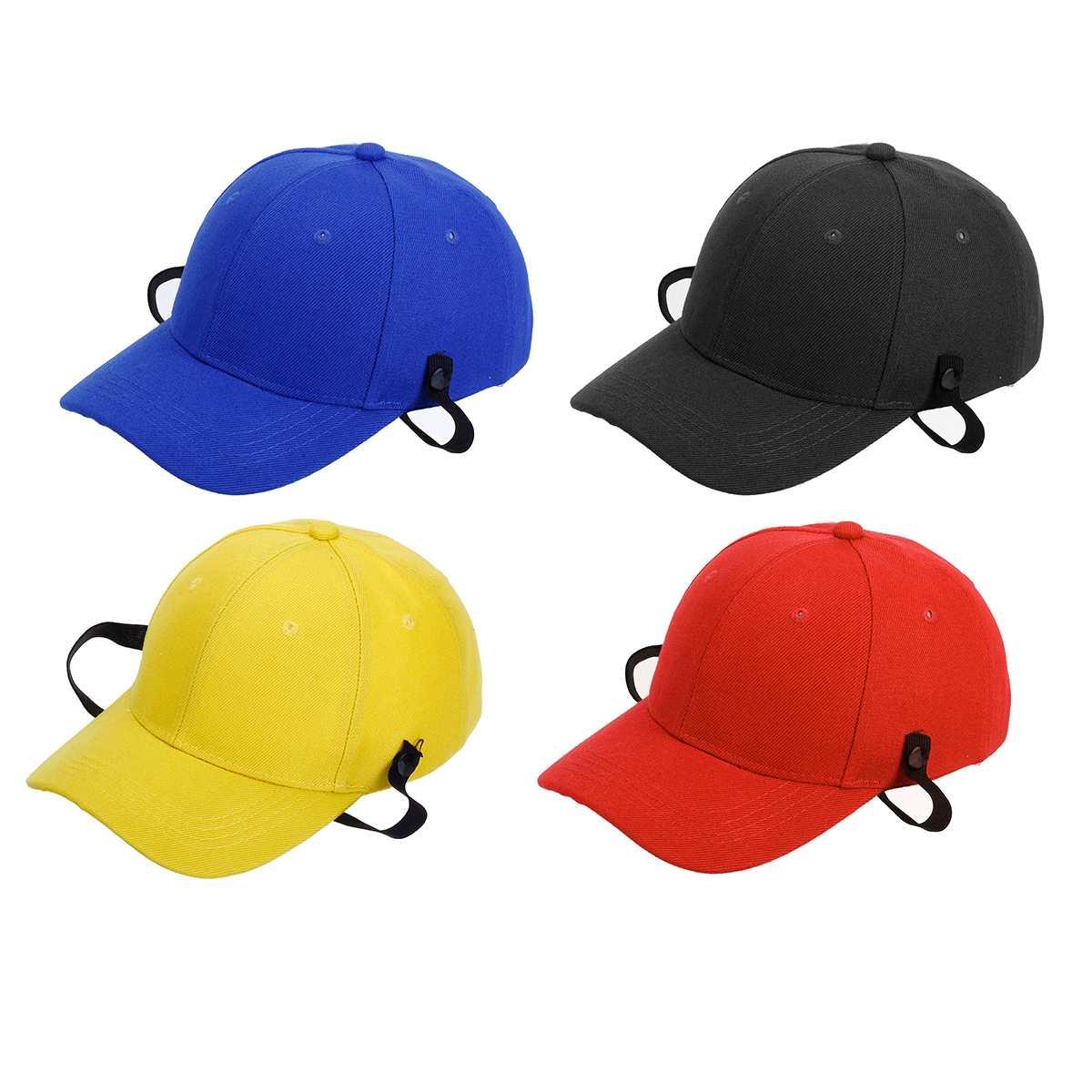 Cotton+Hard Plastic Strap Cap Hip Hop Hat Adjustable Baseball Cap Snapback Hat For Women Mens Caps