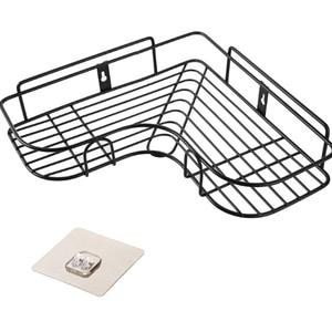 Многофункциональная треугольная настенная угловая полка, ванная, кухня, душ, полка, органайзер, дырокол, свободный держатель для домашнего ...
