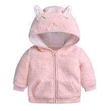 Осень зима 2020 Одежда для новорожденных пальто с кроликом куртка