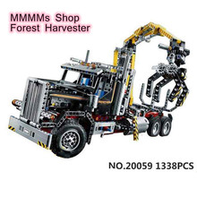 1338pcs Buidling Blocks Bricks Toys Compatible Legoingly Technic Forest Harvester Set Birthday Gifts for Children 20059