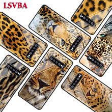 Tiger Leopard Panther for Samsung Galaxy Note 10 9 8 Pro S10e S10 5G S9 S8 S7 Plus Super Bright Glossy Phone Case Cover