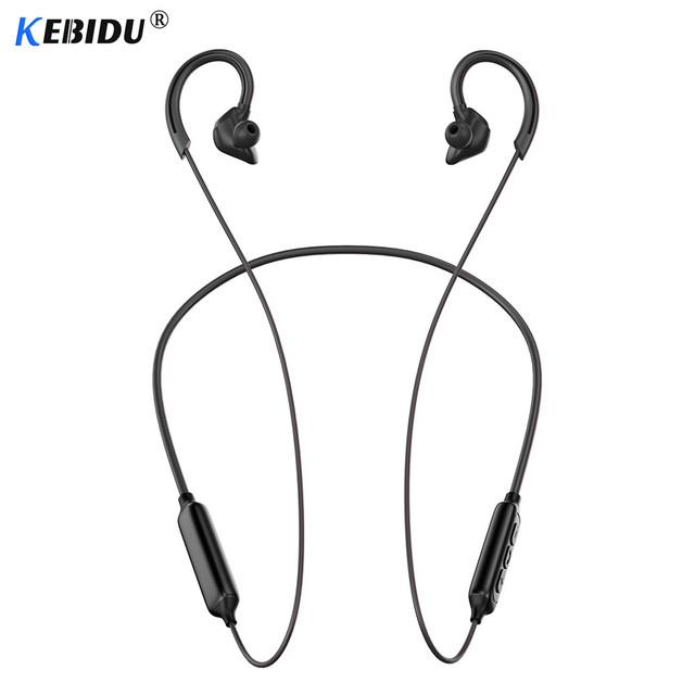 Kebidu PTM X1 Neckband Bluetooth Earphone Wireless Headphones Sport Headset Bluetooth Earbuds With Mic For iPhone Samsung Xiaomi