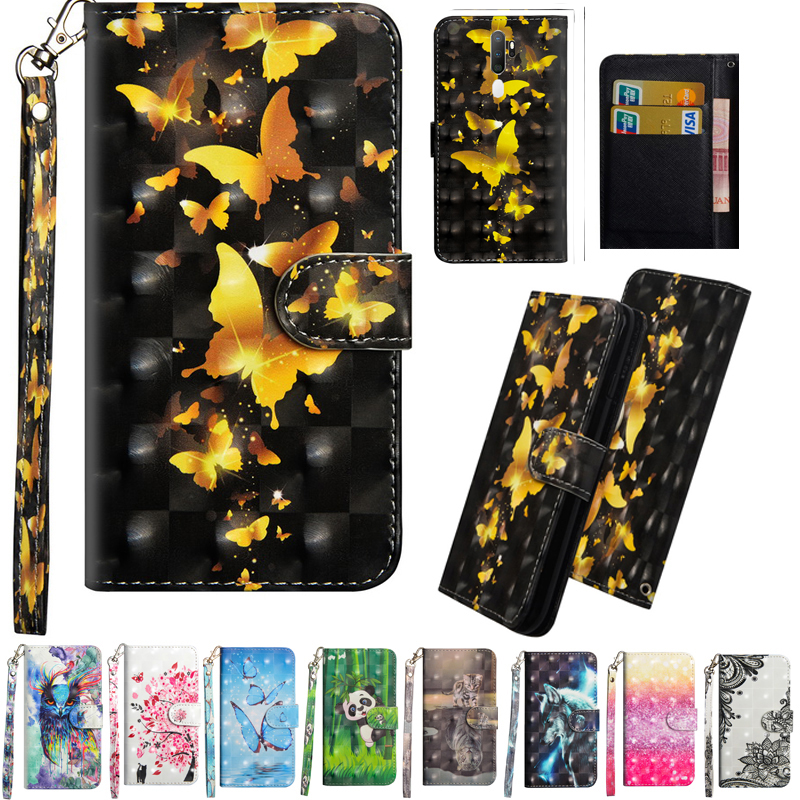 For <font><b>OPPO</b></font> A9 2020 <font><b>Case</b></font> Flip Stand <font><b>Wallet</b></font> Phone <font><b>Case</b></font> For <font><b>OPPO</b></font> <font><b>A5</b></font> 2020 <font><b>Case</b></font> PU Leather Card Holder A 9 2020 Protective image