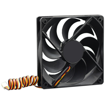 12V Cooler Fan for PC 2-Pin 12cm Computer CPU System Heatsink Brushless Cooling Fan