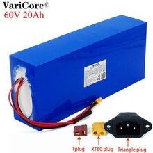 Varicore e-bike batterie 60V 20ah 18650 li-ion batterie pack 20000mAh vélo kit de conversion bafang 1000w BMS haute puissance protection