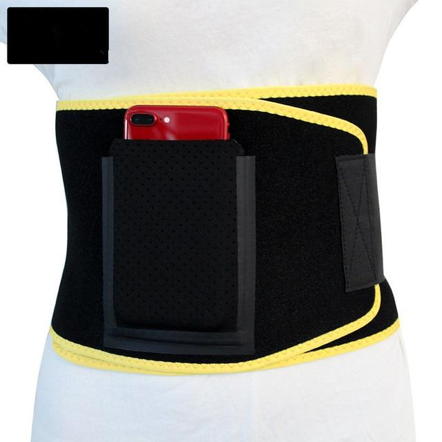 TJ-Tianjun  New Workout Sweat Belt For Waist Protection yoga Embossing Belt For Fltness Shaping Belt YX8708