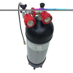 Image 5 - AC10910191 Acecare 9L 4500Psi האפ דחוס סיבי פחמן PCP עבור ירי Airsoft חיל האוויר עם שסתום & מילוי תחנה