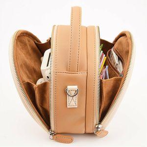 Image 5 - PU Leder Lagerung Trage Tasche Fall Beutel Abdeckung Für Polaroid 300 Fujifilm Instax Mini 8 9 7S 70 11 liPlay Instant Film Kamera