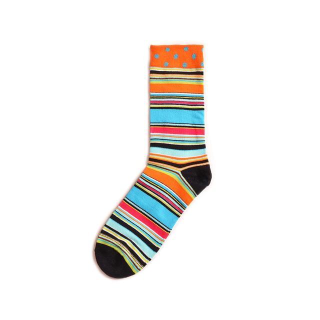 Colorful Sushi Mushroom Pattern Novelty Crew Socks Men's Funny Food Kawaii Sokken Creative Casual Cotton Party Socks For Male 6