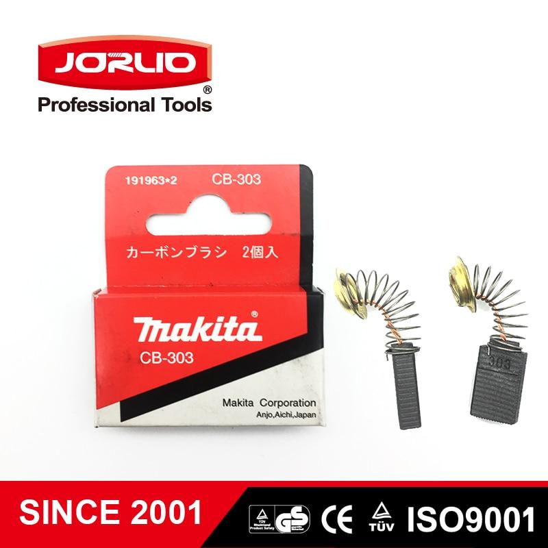 Orginal New Makita 191963*2 CB-303 CB303 Carbon Brush Brushes 1949966