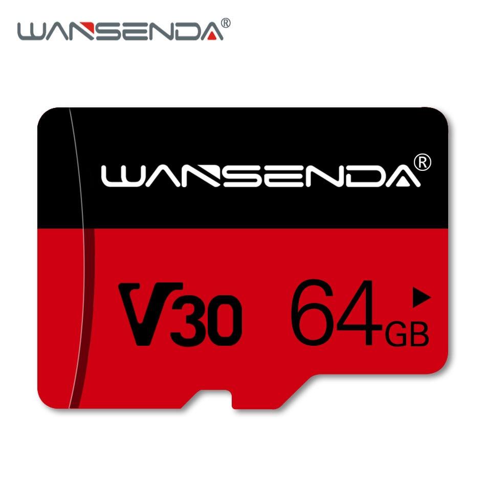 WANSENDA Memory Card Micro SD Card 128GB 64GB 32GB 8GB SDHC SDXC Class10 Trans Flash 4K Microsd TF Cards For Smartphone /Camera