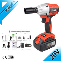 20V Brushless Electric Impact Wrench For Car/SUV Wheel,With 4.0 Battery Hand Drill Installation Power tool Accessory