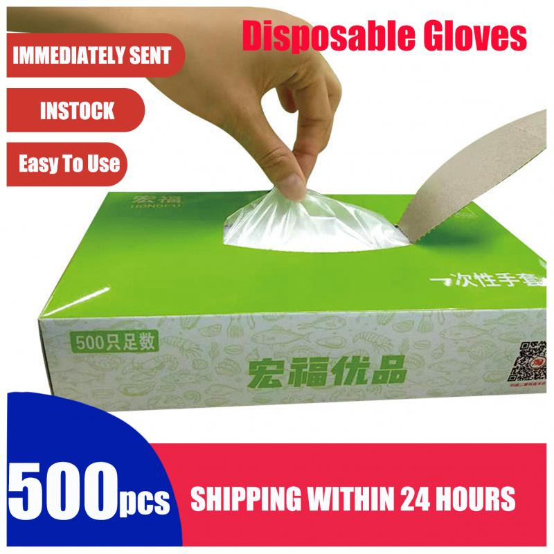 Clear Vinyl Gloves Hands Protection Disposable Work Multi-function Gloves Anti-Pollution Dirty Proof Car Cleaning Gloves