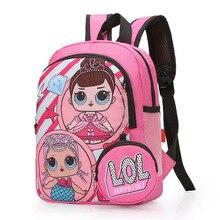 New Fashion Princess Backpack Orthopedics School Bags for Ki