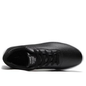 Image 3 - OZERSK 브랜드 2021 가을 큰 크기 35 47 Pu 가죽 남성 신발 캐주얼 클래식 스 니 커 즈 남성 Unisex 편안한 신발