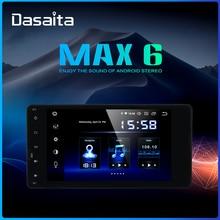 "Dasaita 7 ""אנדרואיד 9.0 רכב אוניברסלי 2 דין רדיו למיצובישי לנסר הנכרי פאג רו ASX טריטון TDA7850 רכב סטריאו bluetooth"