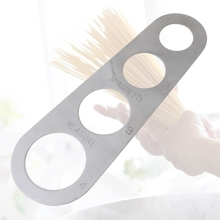 Stainless Steel Spaghetti Measurer Tool Pasta Portion Control Gadgets 4 Portions L5YE