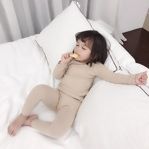 Image 5 - Spring Baby Boy Girl Soft Cotton Pajamas Clothes Set Sleepwear Nightwear Outfit for Newborn Infant Children Cloth Kid Clothing