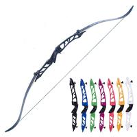 7 colors 68 inches Competition Take down Recurve Bow 18 20 24 28 30 32 36 38 Lbs Right Hand recurve Bow Hunting Shooting