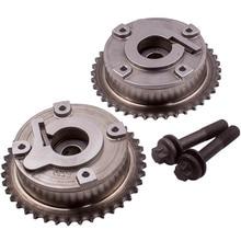 2x VVTเฟืองไอดีและท่อไอเสียสำหรับMini Cooper R56 R61 N14B16Cเครื่องยนต์7545862, 7536085,V754586280, 11367545862