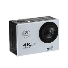 Cam Action-Camera Helmet Video Wifi Sports 1080P Waterproof Dv Hd 4K Remote-Control Silvery