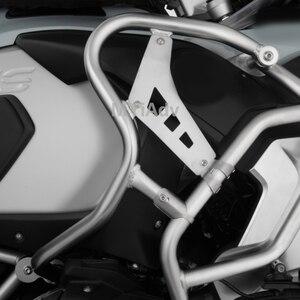 Image 3 - ทั้งหมดใหม่สำหรับBMW R1250GSผจญภัยR1250 Gs ADV Lc 2019 UPPER CRASH BAR EXTENSIONSกันชนถังสแตนเลสGuard protector