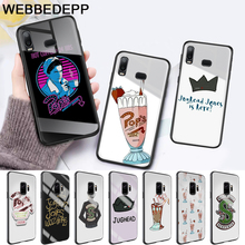 American TV Riverdale Glass Case for Samsung S7 Edge S8 S9 S10 Plus A10 A20 A30 A40 A50 A60 A70 Note 8 9 10 harry styles butterfly glass case for samsung s7 edge s8 s9 s10 plus a10 a20 a30 a40 a50 a60 a70 note 8 9 10