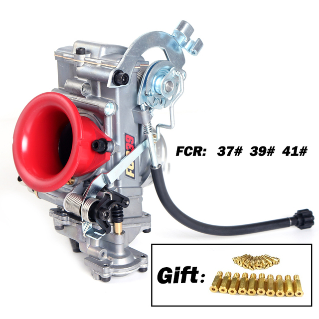 Da corsa Carburatore Per KTM KLX450 CRF 450 650 Motocross Scrambling FCR 28 a 41 mm Aggiungere il divisore di Potere 30% Dal Fatto di in TaiWan
