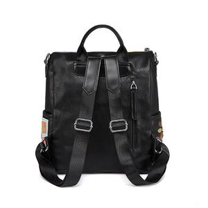 Image 3 - IPinee kobiety plecak moda przyczynowe torby wysokiej jakości haft kobieca torba na ramię PU skórzane plecaki dla kobiet Mochila