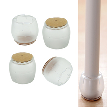 Новая крышка для ног стула с круглым дном, резиновые защитные накладки для ног, мебельные скатерти DXAF