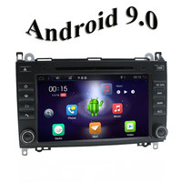 2 DIN RADIO Android 9.0 Car dvd player radio GPS Navi for Mercedes Benz B200 A B Class W169 W245 Viano Vito W639 Sprinter W906