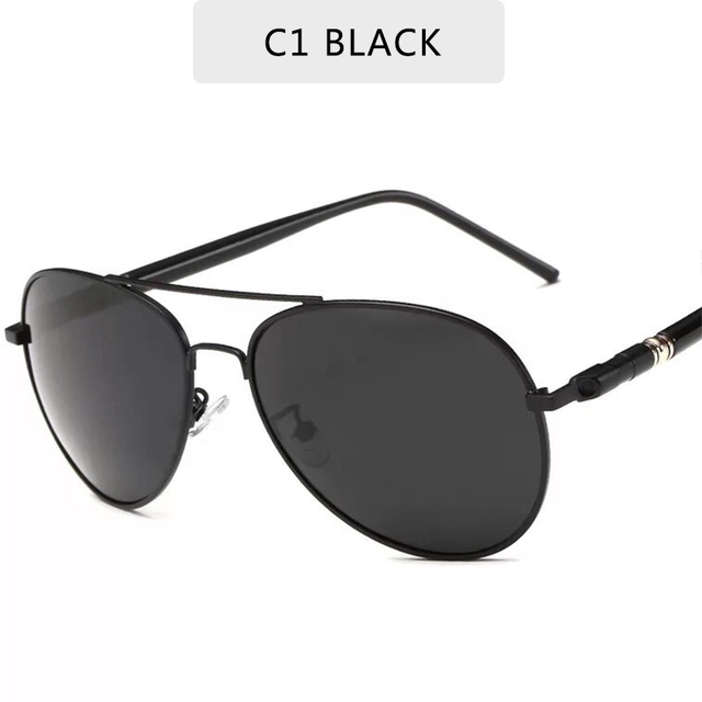 2020 Fashion Polarized Sunglasses Men Brand Classic Pilot Sun Glasses Fishing Driving Goggles Shades For Men/Wome Oculos