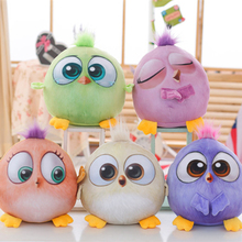 New bird movie angry cute plush animal soft stuffed toy doll chicken pillow home decoration birthday Christmas gift WJ243