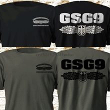 Fashion Gsg9 Tee-Shirts German Special Forces Casual Federal Police Elite Grenzschutzgruppe