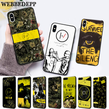 WEBBEDEPP Twenty One Pilots Trench Silicone soft Case for iPhone 5 SE 5S 6 6S Plus 7 8 11 Pro X XS Max XR