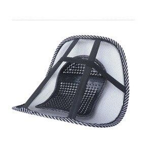 Image 5 - Auto di grandi dimensioni Lombo Sedile Cuscino Dello Schienale Cuscino di Massaggio Lombo permeabile allaria Ufficio Lombo Cuscino Accessori Per Interni Auto