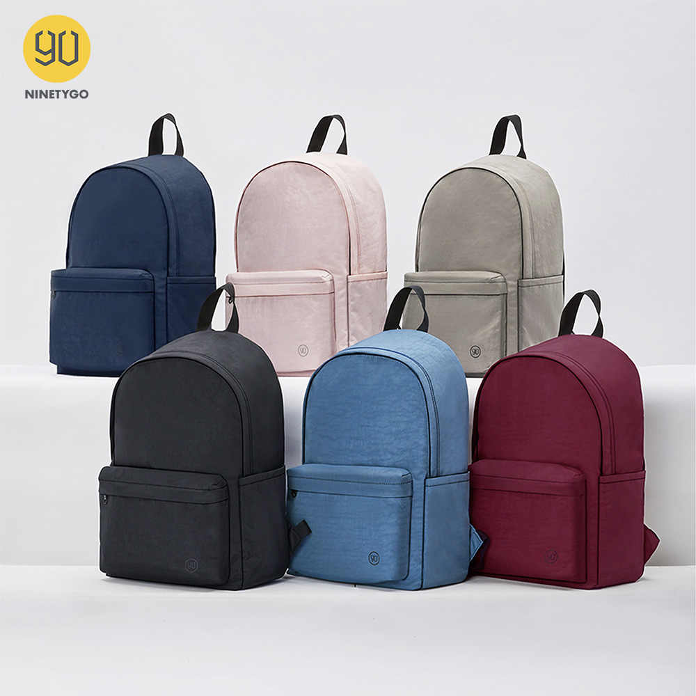 NINETYGO 90FUN Junge College Rucksack für Mädchen und Jungen 15L Kapazität Bunte Paar mochila Mode Leichte Schule Tasche
