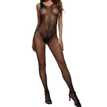Body Sexy Lingerie Latex Bodystocking Catsuit Latex Catsuit Vrouwen Sexy/Sissy Lingerie Babydoll Ondergoed Kous One Size(China)