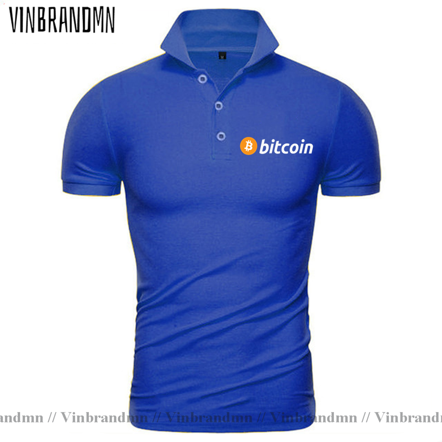 2021 Bitcoin HODL Your Cryptos Cryptocurrency Funny Polo shirt for Men Short Sleeves Clothes New Arrival Tee Shirt 100% Cotton 2