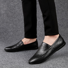 2019 mens casual loafers shoes breathable light fabric fashion spring autumn black gray blue flat with cheap male %1905