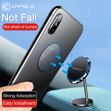 CAFELE Universal Magnetic Car Phone Holder 360 Rotation GPS Holder For Phone in Car Mount Stand For iphone 11 Huawei P40 Pro phone holder hud car dashboard phone stand 360° rotation adjustable gps car clips holder for universal mobile phone car stand