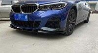 BMW G20 G28 용 새로운 3 시리즈 앞 범퍼 립 포일러 PP MaterialFor BMW MP 스타일 320i 320li 325li 328i 스포일러 2020 년