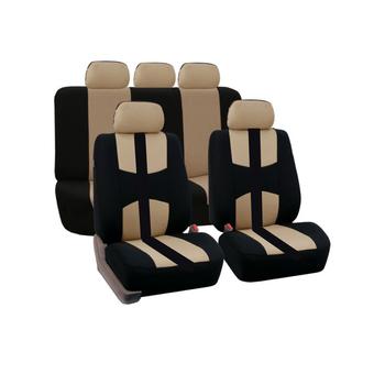 9-częściowy zestaw cztery pory roku uniwersalne pokrowce na siedzenia samochodowe nadaje się do 5 siedzenia samochodu poduszki do siedzenia wyposażenie wnętrz samochodów tanie i dobre opinie aiboduo Uciekają Tkaniny Pokrowce i podpory 600g Podstawową Funkcją car seat protector