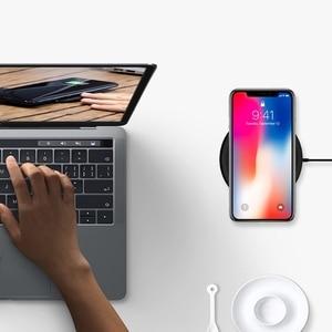 Image 5 - EnergyPad Qi אלחוטי מהיר מטען 7.5W עבור iPhone X / 8/ 8 בתוספת Samsung Galaxy