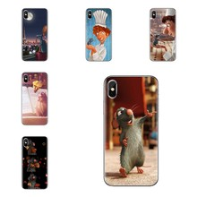 Per Samsung Galaxy S2 S3 S4 S5 Mini S6 S7 Bordo S8 S9 Più Nota 2 3 4 5 8 coque Fundas Caso di Tpu Ratatouille Movie Film 2007 Film(China)