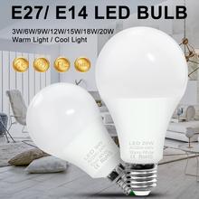 E27 220V LED Lamp LED Bulb SMD 2835 3W 6W 9W 12W 15W 18W 20W Luces LED Bombillas Light Bulbs Lampada Ampolleta LED Lighting 240V