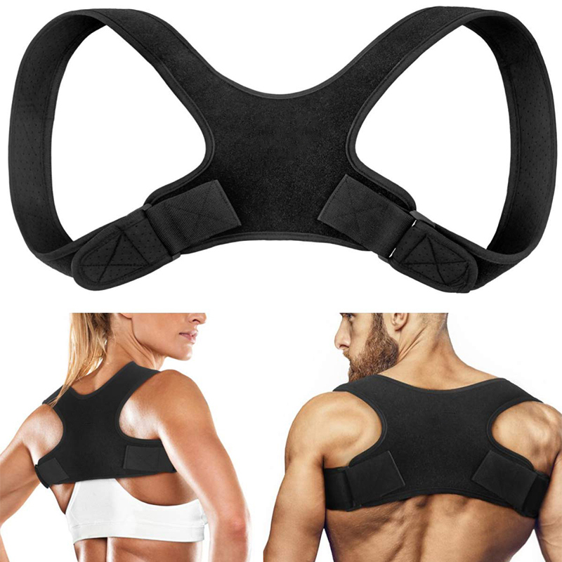 Adjustable Medical Back Posture Corrector Clavicle Spine Back Shoulder Lumbar Brace Support Belt Posture Correction Unisex