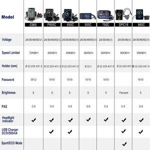 Image 5 - Mid Motor Kits 48V 500W Bafang E BIKE Conversie Crank Drive Borstelloze Ebike BBS02 BBS02B 8FUN Motor Elektrische Fiets onderdelen
